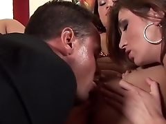 Anal Sex, Blowjob, Brunette, Cumshot, Cunnilingus, Exotic, Facial, Fetish, Gaping Hole, Hairy,