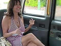 Big Tits, Blowjob, Brunette, Car, Couple, Doggystyle, Fake Tits, Fingering, Hardcore, Horny,