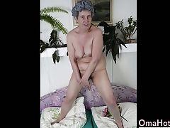 Compilation, Anziano, Masturbazione, Giocattoli Sessuali,