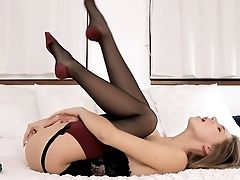 Anal Sex, Anal Toying, Ass, Babe, Blonde, Bold, Cute, Fingering, Innocent, Masturbation,