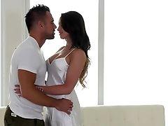 Australian, Big Tits, Bold, Brunette, Kissing, Massage, MILF, Oiled, Pussy, White,
