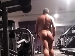 Big Cock, Daddies, Gym, Jerking, Locker Room, Mature, Rough,