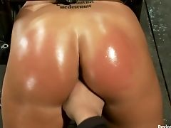 Ass, BDSM, Caning, Kait Snow, Rough,