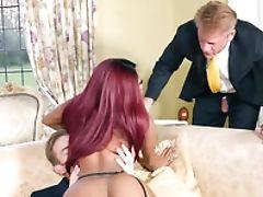 Big Tits, Black, Bold, British, Dick, Huge Cock, Husband, Kiki, MILF, Pornstar,