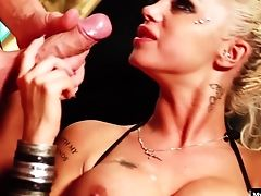 Big Tits, Blonde, Couple, Cum On Tits, Cumshot, Delta White, Fake Tits, Hardcore, Money, Pornstar,