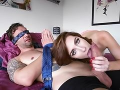 Blindfold, Blowjob, Bondage, Sexy,